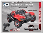 Traxxas 1/10 Slash 4X4 Ultimate LCG BL RTR w/iD Conn