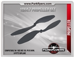 Stock Prop for Gee Bee 3D, Mini Mustang P51D. 10x4.7 Propeller Set (2Pcs)