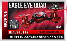 Eagle Eye Quad Cam SD - RC Quadcopter