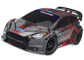 74054-4 - Ford Fiesta ST Rally: 1/10-scale Electric Rally Racer