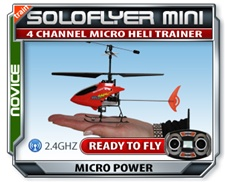 SoloFlyer RTF Electric RC Heli