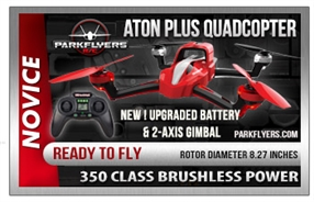 Aton Plus Quadcopter 5000mAh LiPo 2 Axis Gimbal