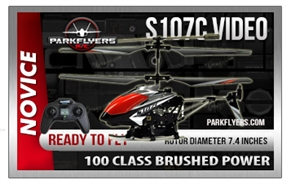 S107C Metal Series RC Helicopter with Video Camera