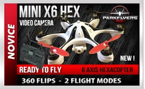 Mini X6 RC Hexacopter / Drone