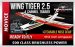 Wing Tiger V2.5 EPO - 1/5 Scale RC Plane