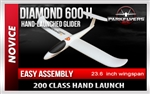 Diamond Hand-Launched Glider 600
