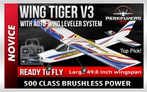 Wing Tiger V3 with Auto Pilot - 1/5 Scale RC Plane