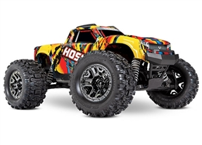 Traxxas Hoss 4X4 VXL 3S 4WD Brushless RTR Monster Truck