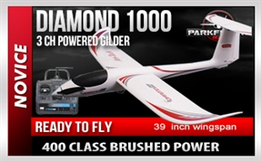 Diamond 1000 RTF Powered Glider