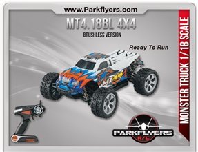 1/18 MT4.18BL Brushless 4WD RTR