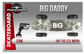Fiik Big Daddy Electirc RC Skateboard All Terrain