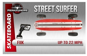 Fiik Street Surfer Electirc RC Skateboard All Terrain
