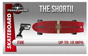 Fiik The SHORTii Electirc RC Skateboard High Performance