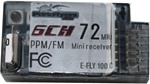 6 Channel (ch# 51) E-FLY 100C PPM Receiver.