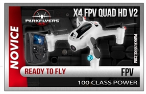 Hubsan 2nd Generation X4 FPV Quad