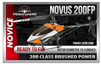 Novus 200 FP 2.4GHz Electric Helicopter RTF