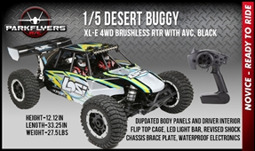 1/5 Desert Buggy XL-E 4WD Brushless RTR with AVC