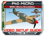 P40 RC Airplane Setup VIDEO Guide