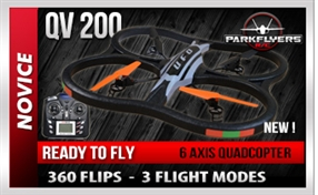 QV 200 Extra Large RC Quadcopter W/Video