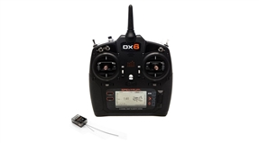 DX6 6-Channel DSMX Transmitter Gen 3 with AR6600T Receiver (SPM6755)