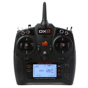 DX8 8-Channel DSMX Transmitter Gen 2 with AR8010T, Mode 2 (SPM8015)