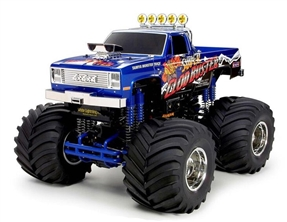 TAM58518 1/10 Super Clod Buster 4WD Monster Truck Kit