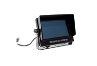 "4-Channel LCD 7"" Monitor w/ DVR"