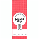 2 lb Poly Meat Bags Ground beef