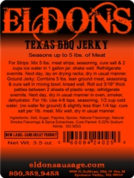 BBQ Jerky Seasoning