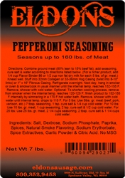 Pepperoni Seasoning - 7# Bag