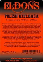 Polish Kielbasa Seasoning - 7# Bag