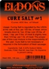 Curing Salt (Prague Powder #1) 1 Lb. Bag