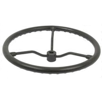 "Steering Wheel 18"" with hex nut and keyway"