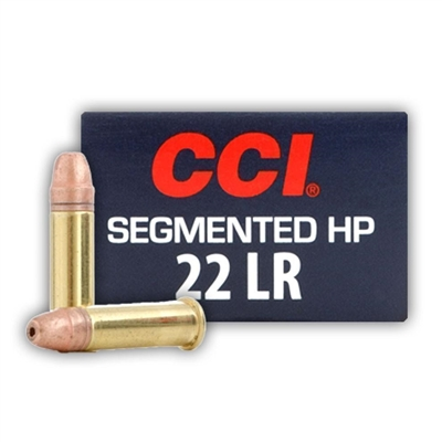 CCI 22lr SEGMENTED 32GR HP 500 RND BRICK  1640 FPS * NO LIMITS *
