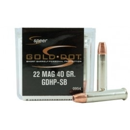 SPEER GOLD DOT 22 MAG 40GR GDHP-SB 50 RND BOX *NO LIMITS*