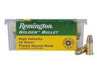 REMINGTON 22 SHORT GOLDEN BULLET 100 RND BOX