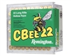 REMINGTON 22LR CBEE22 LOW NOISE HOLLOW POINT 100 RND BOX 33GR