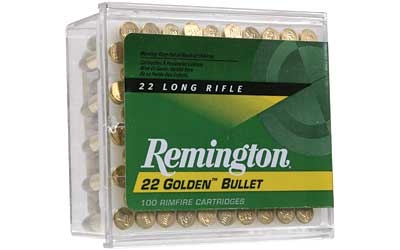 REMINGTON GOLDEN BULLET 22LR HV 40 gr PRN 100 RNDS