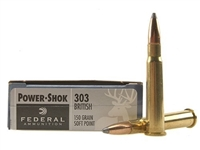 FEDERAL 303 BRITISH 150GR SP 20 RND BOX