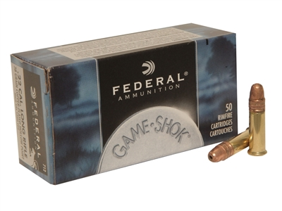 FEDERAL 22LR 38GR COPPER-PLATED HP 50 RND BOX * No Limits*