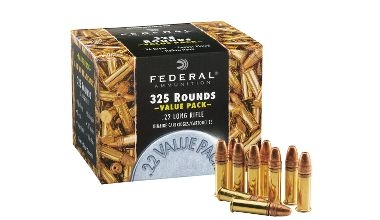 FEDERAL 325 RND BOX 22LR 36GR CP-HP