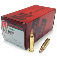 HORNADY 223 REM SP 50 RND BOX BRASS *SALE*