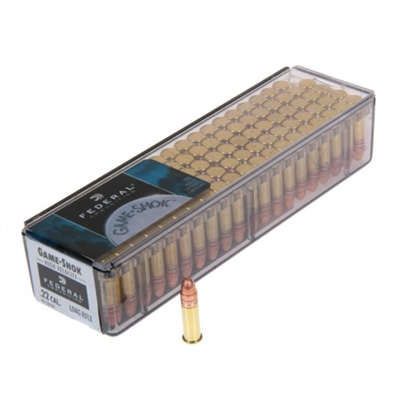 Federal 22lr 40gr copper plated solid 1240 fps 100 Pack