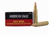 FEDERAL AMERICAN EAGLE 20 RNDS 223 REM 50GR J-HP