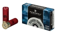 FEDERAL 12GA 2 3/4 BUCKSHOT 00 BUCK 9 PELLET 5 PER BOX