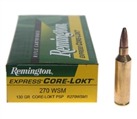 REMINGTON 270WSM 130GR CORE-LOKT PSP