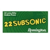 REMINGTON SUBSONIC 22LR 50 RND BOX