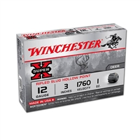WINCHESTER SUPER X 12GA 3'' RIFLED SLUG 1OZ 1760 FPS