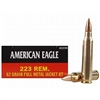 Federal American Eagle 62gr FMJ BT 20 RND BOX