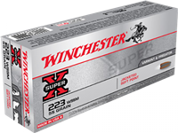 Winchester 223 Wssm 20rnd Box 55gr JACKETED SOFT POINT